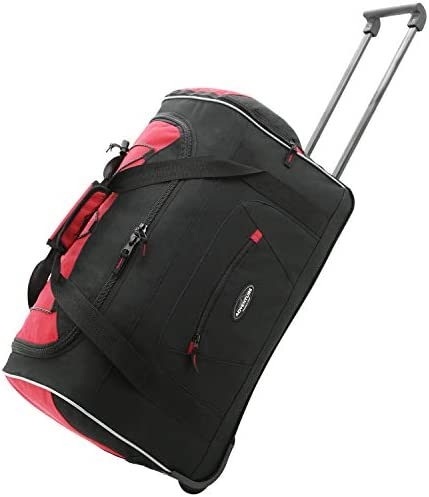 Travelers Club 22 ADVENTURE Travel Rolling Carry-On Duffle