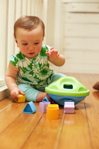 Green Toys Shape Sorter, Green/Blue by Green Toys (Image #6)