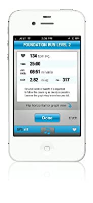 Pear Sports Mobile Training Intelligence System for iPhone 4S and iPhone 5