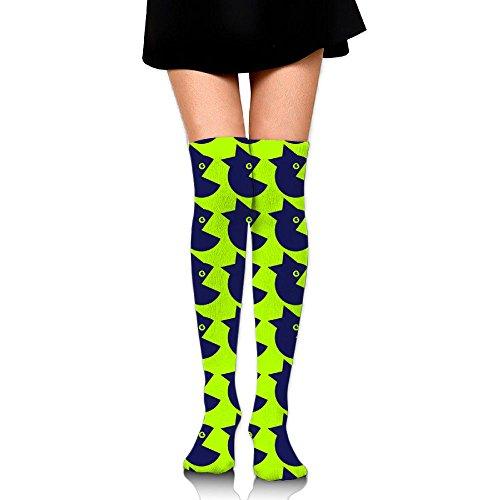 Knee Cruiser - Lady Cruiser Women Over Knee High Socks Extra Long Athletic Sport Tube Socks