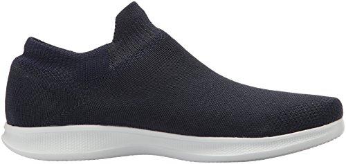 Collo Lite Donna Go Alto Skechers Sneaker Blu Step White Ultrasock a Navy YEBBq8