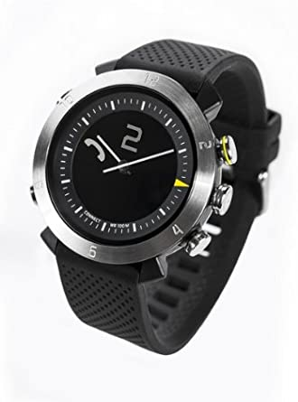 COGITO Classic Smart Bluetooth Connected Watch for Smartphones - Retail Packaging - Silver Arrow