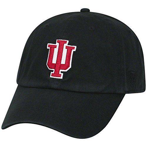 Top of the World Indiana Hoosiers Men's Hat Icon, Black, Adjustable
