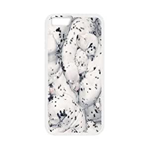 {Dalmatian Series} IPhone 6 Plus Case Dalmatian Puppies Sleeping Together, Case Bloomingbluerose - White