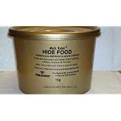 Gold Label Hide Food, 1kg- An original nutrient leather food based on Beeswax and Lanolin