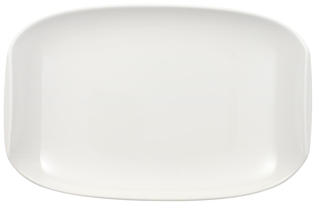 Urban Nature Pickle Dish by Villeroy & Boch - Premium Porcelain - Made in Germany - Dishwasher and Microwave Safe - 8 x 5.25 Inches
