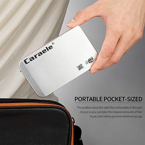 [Mollikar] Mobile Hard Disk,H-6 HDD 1TB Metal Case USB 3.0 Laptop Mobile Hard Drive for Windows System ()