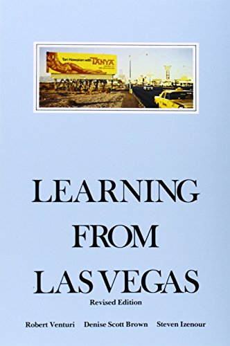 Pdf Photography Learning from Las Vegas - Revised Edition: The Forgotten Symbolism of Architectural Form