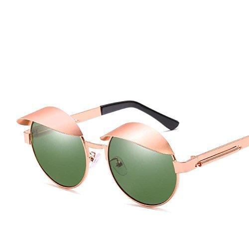 Sol Regalos de Axiba Espejo Sol y de Gafas Sol Pata Espejo creativos Gafas Metal Redondas de de Primavera A Marea Mujer Hombre Anti ultravioletas qq1OwFf