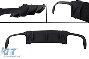 KITT RDMBW204F Parachoques Difusor AMG Design Sport Bumper+Escape Consejos: Amazon.es: Coche y moto