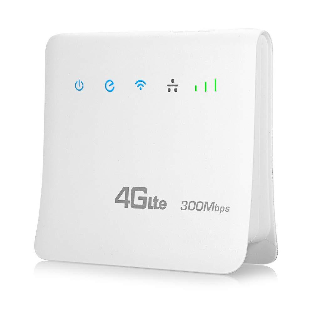 JAYLONG Desbloqueado Router inalámbrico 300Mbps 4G LTE CPE ...