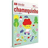 Papel Sulfite A4 Colorido Chamequinho, International Paper, Multicor