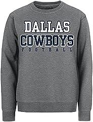 Dallas Cowboys Mens Crew Fleece Sweatshirt