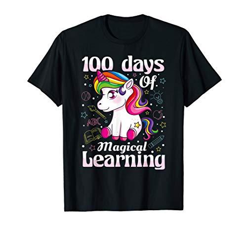 100 Day Of School Shirt Ideas (100th Day of School Unicorn T Shirt Girls 100 Days of)