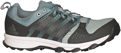 adidas Galaxy de la mujer Trail Running Shoe Vapour Green/night Metallic/vapour Steel