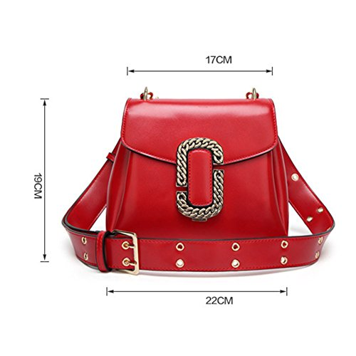 Purse Women Bag Retro Shoulder DCRYWRX Handbag Crossbody Designer For Fashion Women brown Leather Bag Messenger fZRwqd