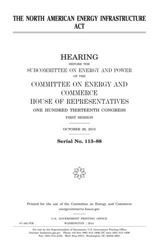 The North American Energy Infrastructure Act