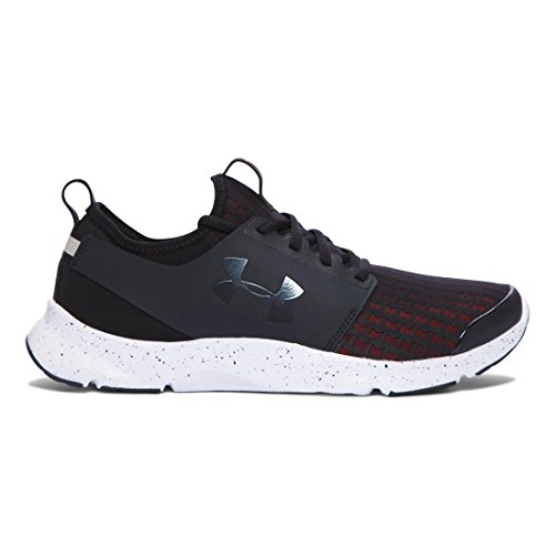 Under Armour Herren UA Drift RN Laufschuhe Black / Bolt Orange / Stealth Gray