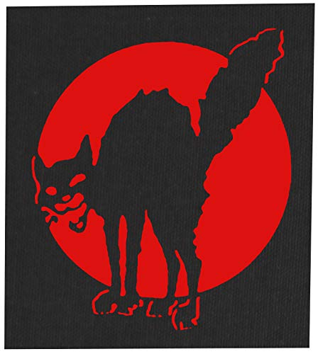 Class War Sabotage Cat Back Patch - Anti Media Authority Establishment Corporation Social Political Activism Anarchism Anarchy Government Anarcho Punk Earth Human Rights Welfare (12 x 14 inches)