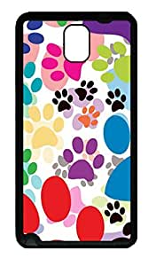 Samsung Galaxy Note 3 N9000 Cases & Covers Paw Painting Custom TPU Soft Case Cover Protector for Samsung Galaxy Note 3 N9000 Black