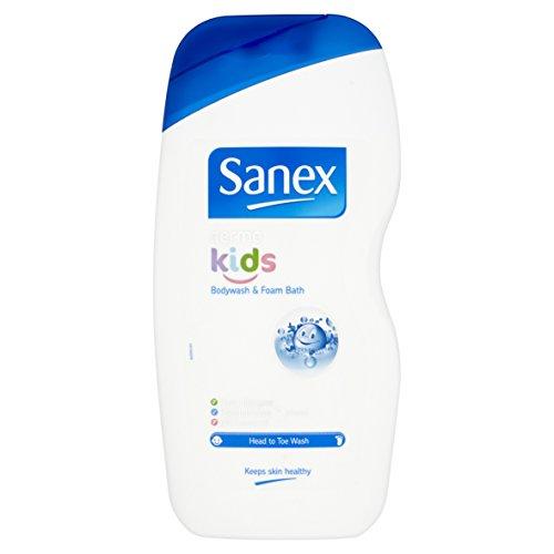 Mandarin Foam (Sanex Dermo Kids Body Wash & Foam Bath (500ml))