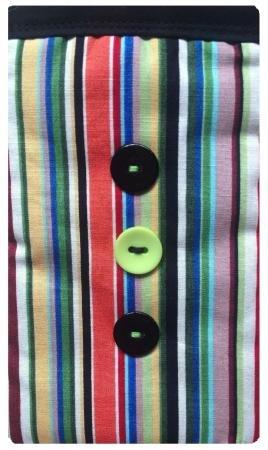 Gestreifter Druck Apple iPhone 6Plus Socke/Case/Cover/Tasche