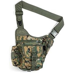 Red Rock Outdoor Gear Sidekick Sling Bag (Small, Woodland Digital Camouflage)
