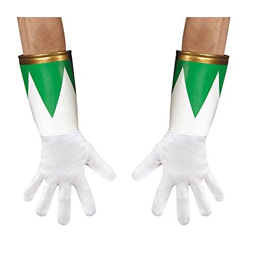 Disguise Green Ranger Costume Gloves
