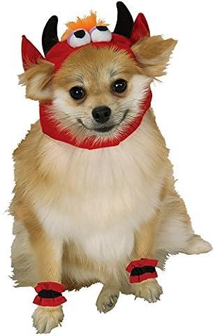 Rubie's Pet Costume, Large, Devil Headpiece with Cuffs (Der Hund Beagle Kinderkostüm)