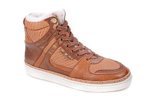 PANTOFOLA D ORO Damen Sneaker 4 High Hellbraun Größe 37
