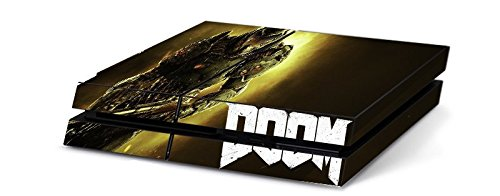 Price comparison product image Doom 4 Game Skin for Sony Playstation 4 PS4 Console 100% Satisfaction Guarantee! by Skinhub