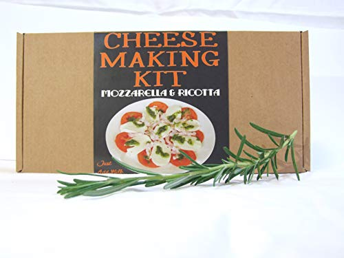 Cheese Making KIT Authentic Italian Mozzarella & Ricotta=Great Gift=Make Your Own Cheese ()