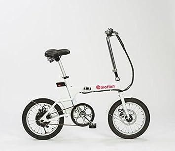 Urban e-motion Bicicleta electrica e-Bike Compact Blanca 6000Ah