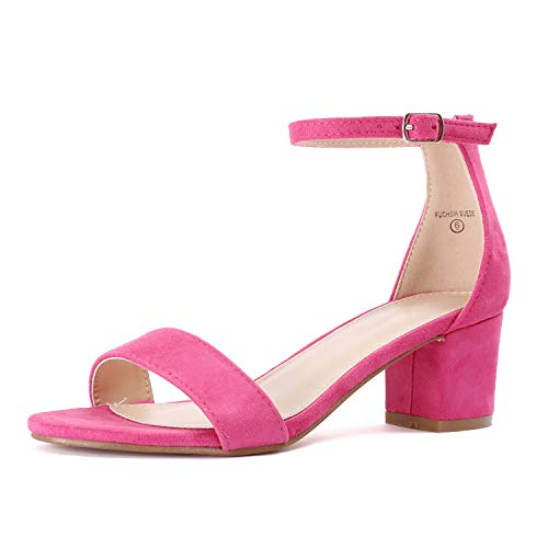 Guilty Shoes - Jean 08 Fuchsia Suede, - Shoe Suede Fuchsia