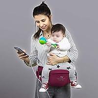 My Valice Carry Bel Destekli Ana Kucağı Bebek Taşıyıcı Kanguru Bordo