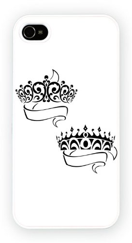 Tattoo Prince Princess Crown Copy, iPhone 5C, Etui de téléphone mobile - encre brillant impression