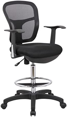 OFFICE FACTOR MESH DRAFTING CLERK STOOL OFFICE CHAIR YOU CAN USE THIS STOOL WITH THE ARMS  sc 1 st  Amazon.com & Office Drafting Chairs | Amazon.com | Office Furniture u0026 Lighting ... islam-shia.org