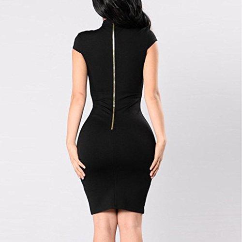 VestidoMini Las Recorte Mujeres Las Vestido Negro Fiesta Atractivo Playa Atractivo De La Vestidos Mujeres del De Cadera Vestido del Cortocircuito Recorte del De del Mujer aqHf4wx4t