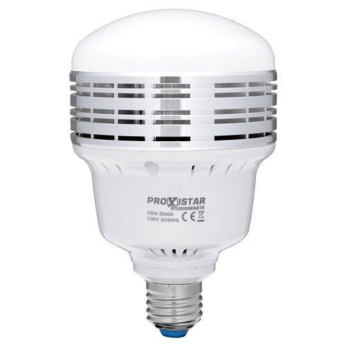 LED de alta potencia de luz LED bombilla trendfinding 35 Watt E27 5500 K lámpara,