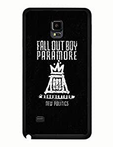 Fall Out Boy Design Terrific Theme Music Band For Case Samsung Note 4 Cover Tough Case yiuning's case