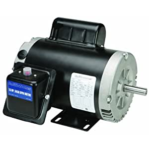 1 5 hp compressor duty motor reversible electric fan for Compressor duty electric motors