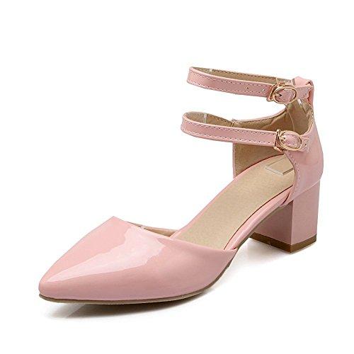 Adee Mujer pointed-toe ankle-cuff Poliuretano Sandalias Rosa - rosa