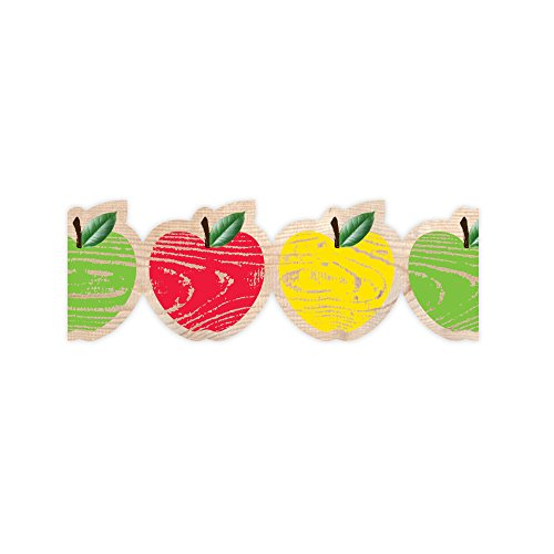 Creative Teaching Press Upcycle Style Apples Border (8381)