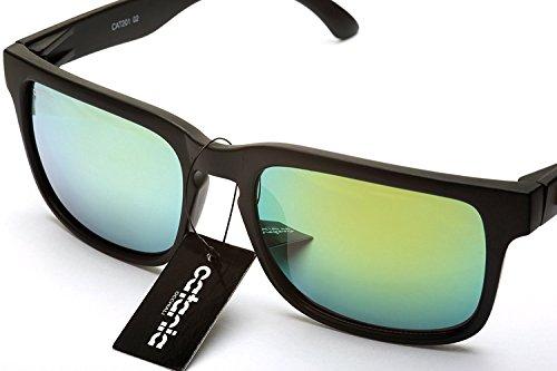 UVA Hombre Para de y 100 Para Catania UVB UV400 Gafas Mujer Gafas de Sol Unisex Protección Sol Occhiali Unw6Rq0