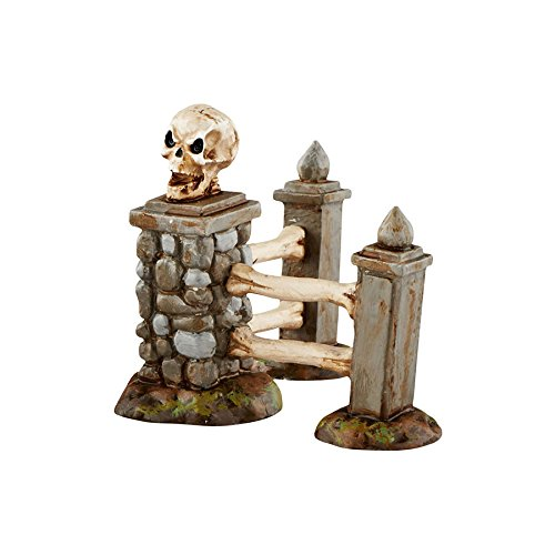 Department 56 Halloween Village Boneyard Corner Fence Accessory 2.24 In (Halloween Accessories)