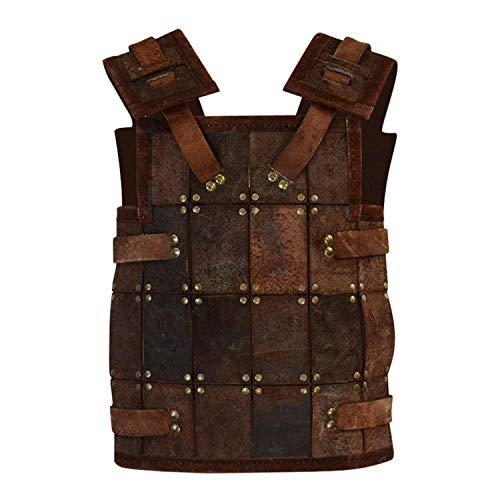 (Epic Armoury Armor Venue - RFB Fighter Leather Armor - Brown)