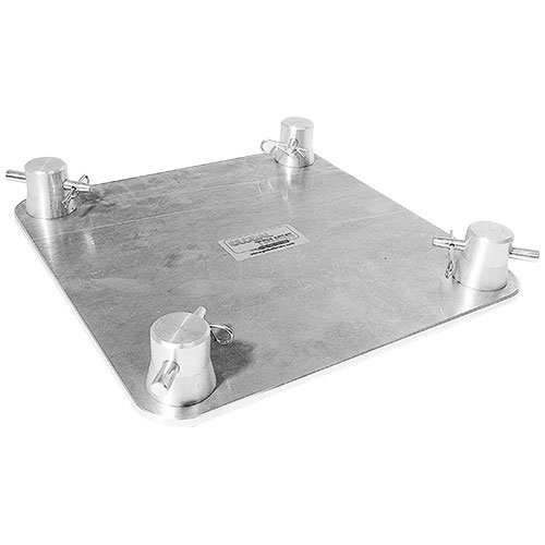 GLOBAL TRUSS SQF24 BASE Base Plate for F24 Square Truss