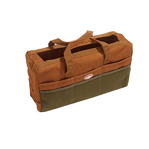 Bucket Boss 3 Bag Duckwear Rigger's Tool Bag in Brown, 60001