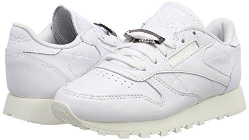 Basse Reebok Da Scarpe Bs9594 Ginnastica white Donna chalk Bianco UIHrIqESwn