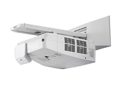 NEC UM301Wi Wall-mounted projector 3000ANSI lumens 3LCD WXGA (1280x800) White data projector B01KK0AG94